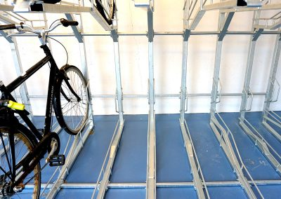 2-våningsställ Bas skenor golv